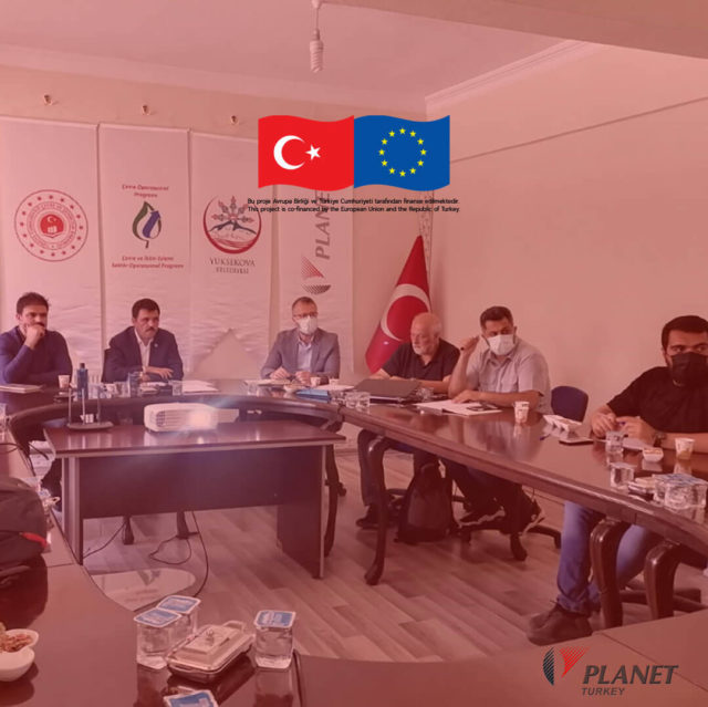 """""""Technical Assistance and Supervision for Yuksekova Wastewater Treatment Plant Project"""" 8th. Monthly Management Meeting"""